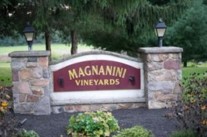 Entrance at Magnanini Winery - Hudson Valley Winery & Vineyard