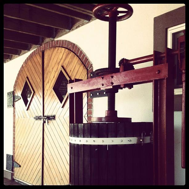 Grape Press at Magnanini Winery - Hudson Valley Winery & Vineyard
