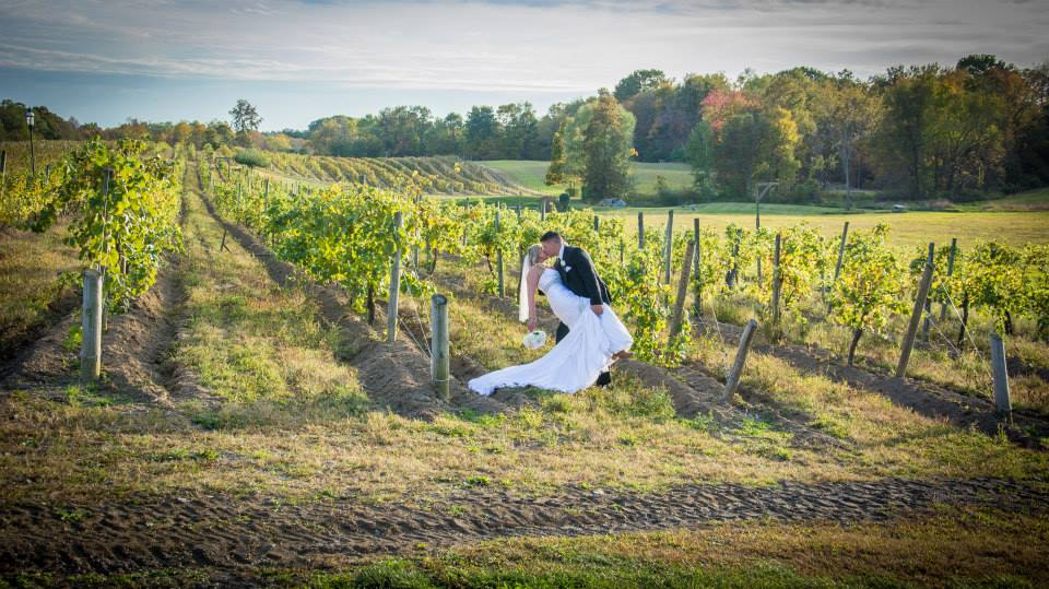 Weddings in the Vineyard at Magnanini Winery - Hudson Valley Winery & Vineyard