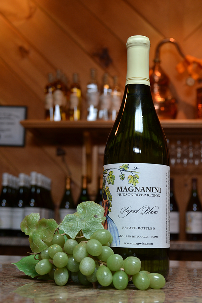 Seyval Blanc Wine - Magnanini Winery - Hudson Valley Winery & Vineyard