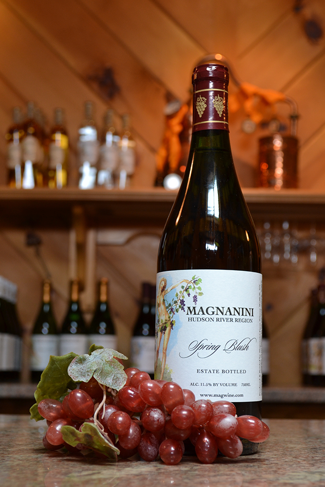 Spring Blush Wine - Magnanini Winery - Hudson Valley Winery & Vineyard