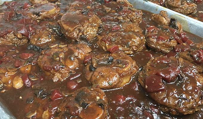 Braised Meat Dish at Magnanini Winery - Hudson Valley Winery & Vineyard