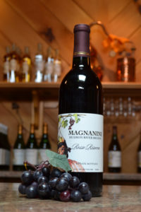 Rosso Riserva Wine at Magnanini Winery - Hudson Valley Winery & Vineyard