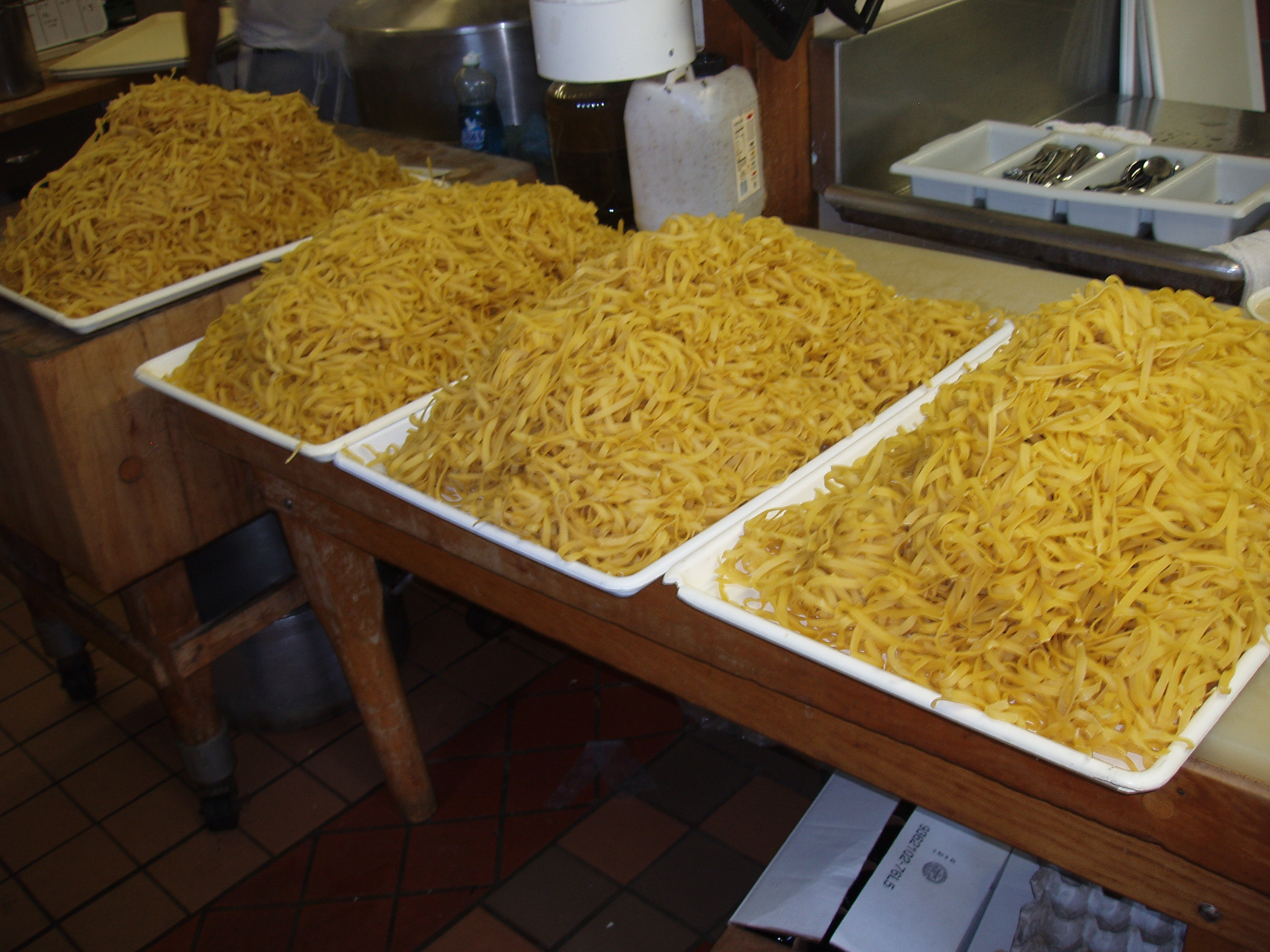 Making Tagliatelle Pasta at Magnanini Winery - Hudson Valley Winery & Vineyard
