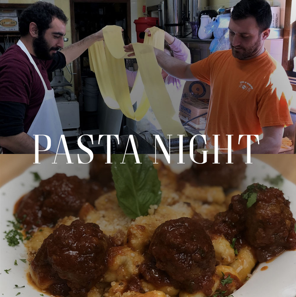 Magnanini Winery - Pasta Night at the Tasting Room