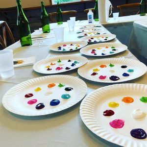 Hudson Valley Paint and Sip at Magnanini Winery
